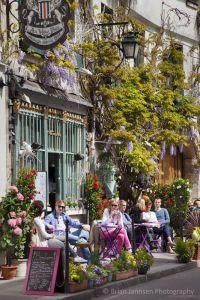 Restaurant Au Vieux in a historic home - Auberge Depuis (est. 1594) on Ile-Saint-Louis, Paris France